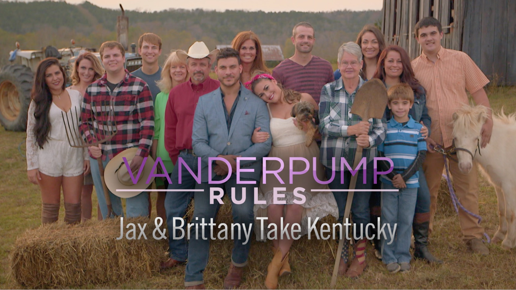 a cast photo from Vanderpump Rules Jax & Brittany Take Kentucky