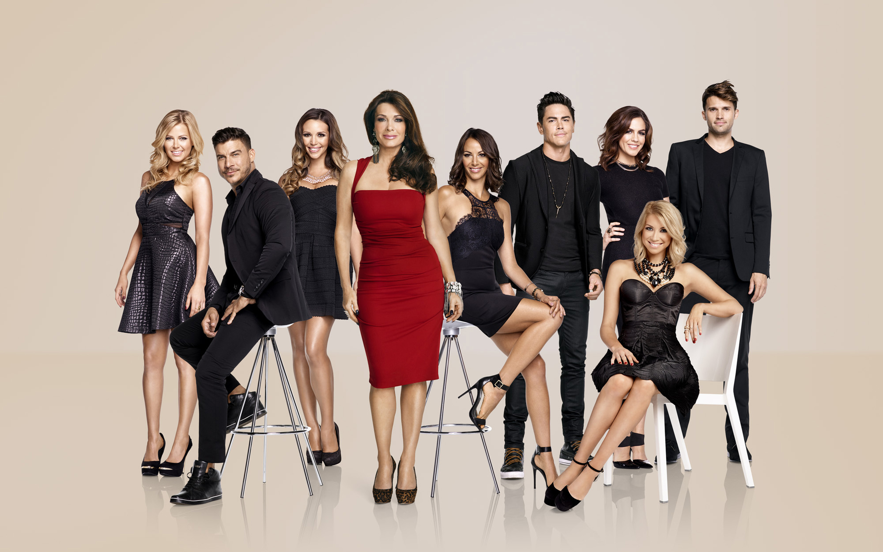 a cast photo from Vanderpump Rules