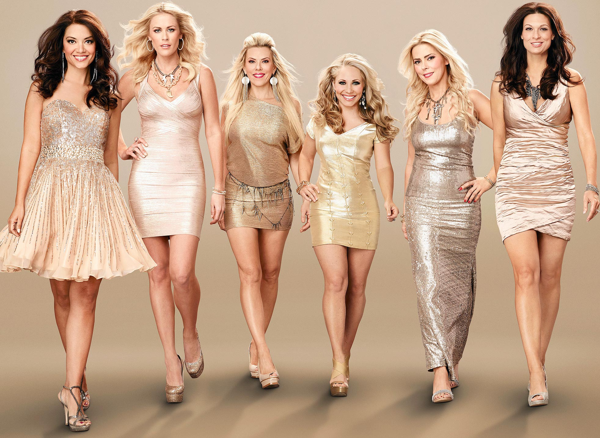 a cast photo from Private Lives of Nashville Wives