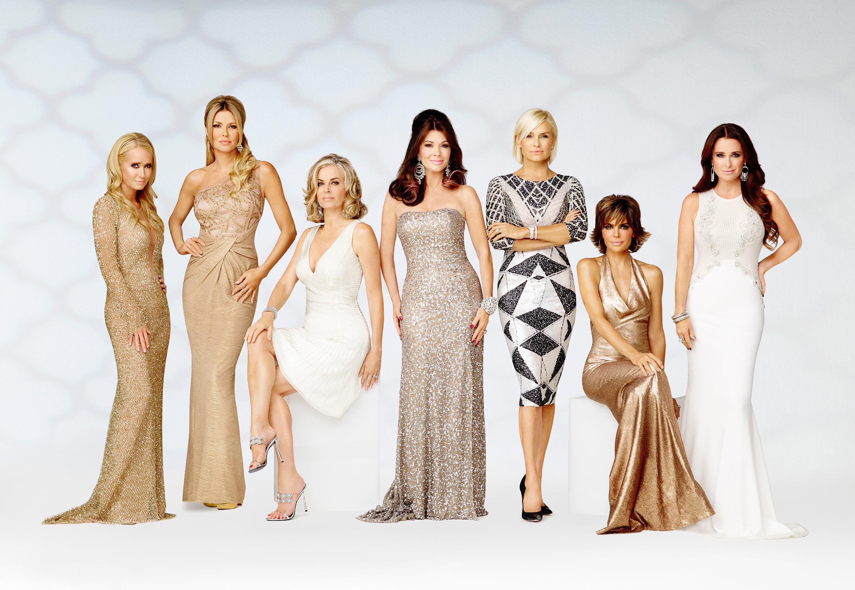 a cast photo from The Real Housewives of Beverly Hills
